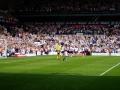Spurs jublar över ett av fem mål mot Villa!