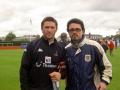 Robbie Keane och Robert Matevski