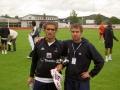 Pedro Mendes och Mikael Nilsson