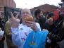 THSS supporterresa i april 2006