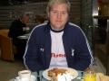 Mikael Ström äter frukost