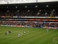 Innan avspark mellan Spurs - Fulham
