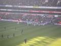 Innan avspark mellan Spurs - West Ham