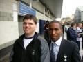 Kim Sandin & Jermain Defoe