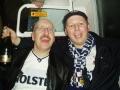 Rusiga THSS-fans på väg hem