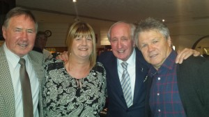 Me, Keith, Peter and Stevie